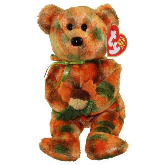 TY Beanie Baby - LEAVES the Bear (8.5 inch - Mint)  Sell2BBNovelties.com   Sell TY Beanie Babies c1cdea5f215
