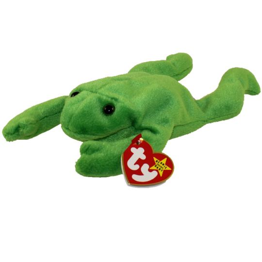 TY Beanie Baby - LEGS the Frog (9 inch) (Mint)  Sell2BBNovelties.com  Sell  TY Beanie Babies b736ee50305