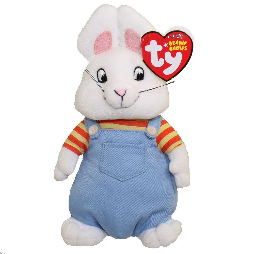 TY Beanie Baby - MAX the Rabbit (Nick Jr. - Max   Ruby) (7 inch) (Mint)   Sell2BBNovelties.com  Sell TY Beanie Babies c72c5deda83