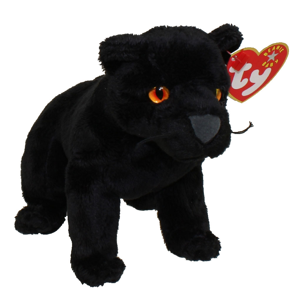 Ty Beanie Baby Midnight The Black Panther 5 5 Inch