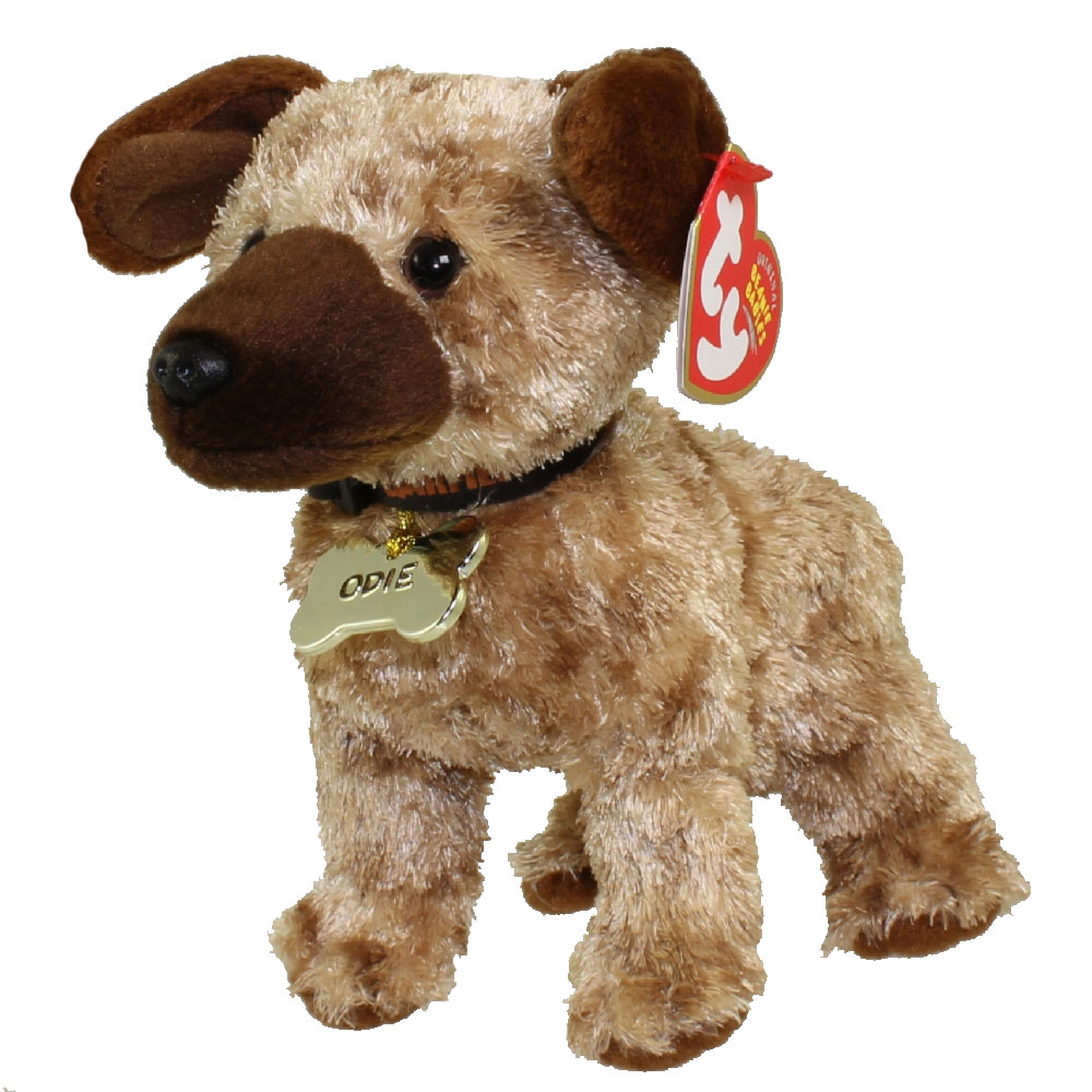 Ty beanie baby odie the dog inch mint sell beanie babies action figures  barbies cards toys 00583240b090