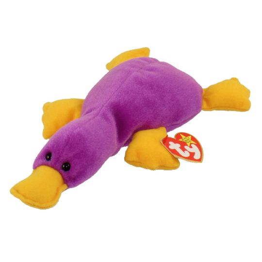 2c88caceadd TY Beanie Baby - PATTI the Platypus (9.5 inch) (Mint)   Sell2BBNovelties.com  Sell TY Beanie Babies