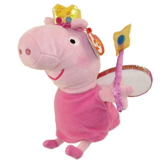 988a185ecab TY Beanie Baby - PRINCESS PEPPA (U.S. Version Peppa Pig - 6 inch) (Mint)   Sell2BBNovelties.com  Sell TY Beanie Babies