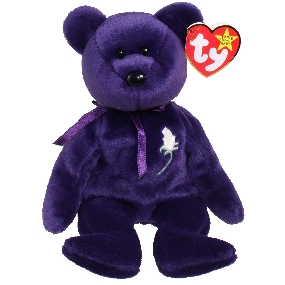 Ty Beanie Baby Princess The Bear 8 5 Inch Mint