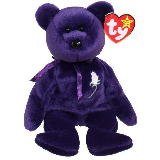 5017de29c61 TY Beanie Baby - PRINCESS the Bear (8.5 inch) (Mint)  Sell2BBNovelties.com  Sell  TY Beanie Babies