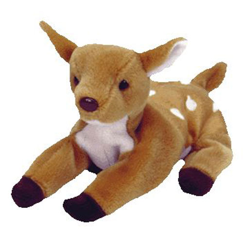 TY Beanie Baby - WHISPER the Deer (6.5 inch) (Mint)  Sell2BBNovelties.com   Sell TY Beanie Babies 7933711484d