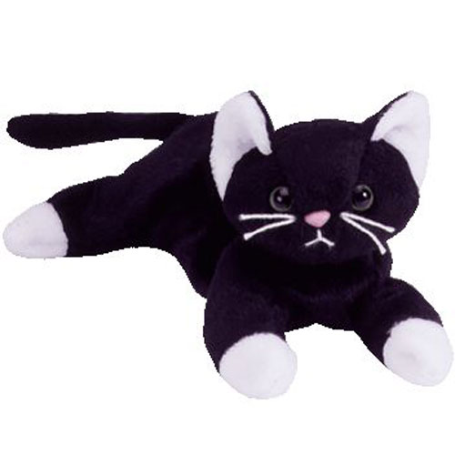 Webkinz Black And White Cat Girl