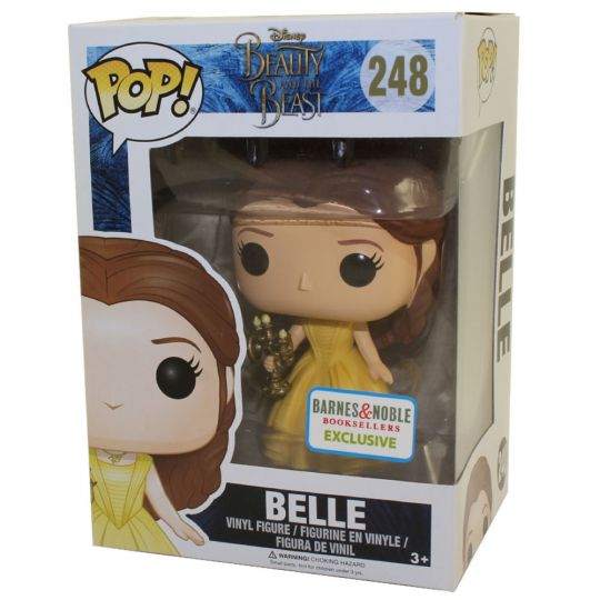 Beauty And The Beast Belle With Candlestick Exclusive Funko Pop Vinyl