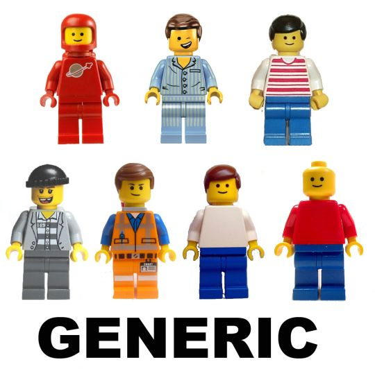 LEGO Any Unlisted Minifigure ($0.50 each - Mint) GENERIC CHARACTERS ...