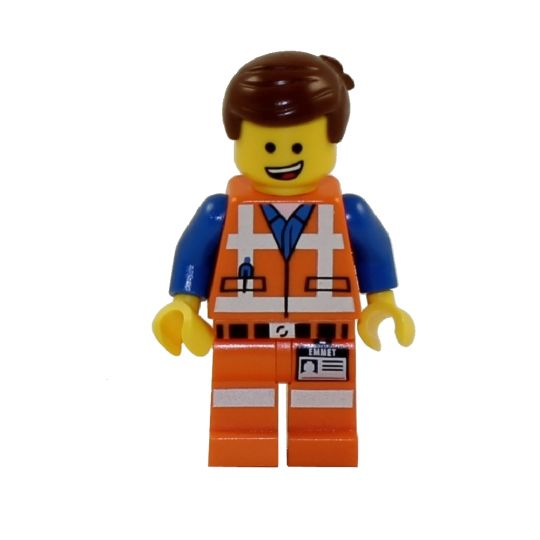Lego Minifigure The Lego Movie Emmet Mint Sell2bbnovelties Com Sell Ty Beanie Babies Action Figures Barbies Cards Toys Selling Online