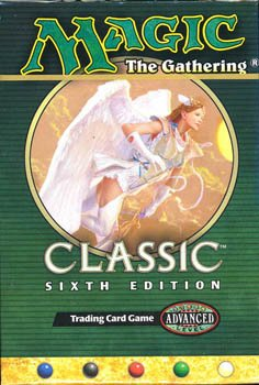 Magic the Gathering Classic Sixth Edition Two Players Starter Deck (New/Mint)
