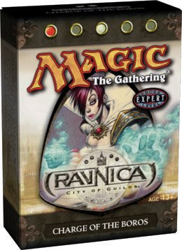Magic the Gathering MTG Ravnica City of Guilds Charge of the Boros Theme Deck (New/Mint)