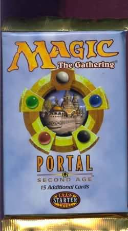 Magic: the Gathering - Portal 2nd Age Booster Pack