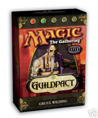 Magic the Gathering * Guildpact Theme Deck: Gruul Wilding * (Red/Green) - OUT OF PRINT (New/Mint)
