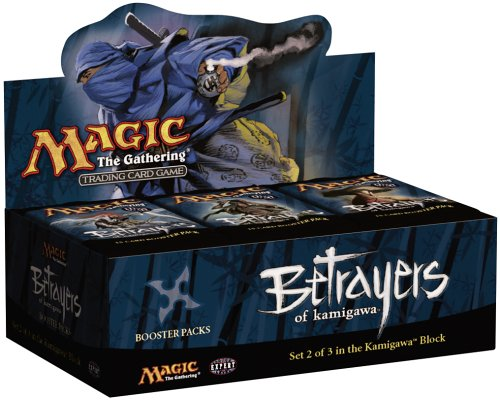 Magic the Gathering MTG Betrayers of Kamigawa Booster Pack (15 Cards/Pack) Out of Print (New/Mint)