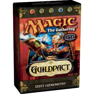 Magic the Gathering MTG Guildpact Izzet Gizmometry Theme Deck (New/Mint)
