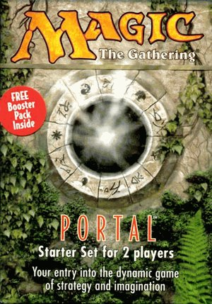 Magic the Gathering Portal Starter Deck (2 Player Theme Decks) (New/Mint)