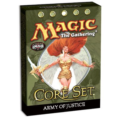 Magic the Gathering MTG 9th Edition Core Set Army of Justice Theme Deck (New/Mint)