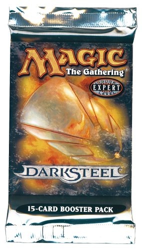 Magic the Gathering Darksteel Booster Pack 15 cards (New/Mint)