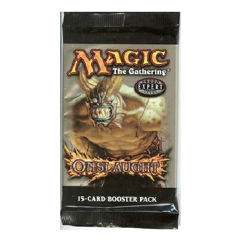 Wizard of the Coast Magic The Gathering Onslaught Booster Pack (New/Mint)