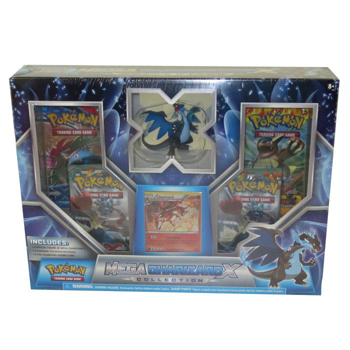 Pokemon Cards Mega Charizard X Blue Box 1 Holo 1