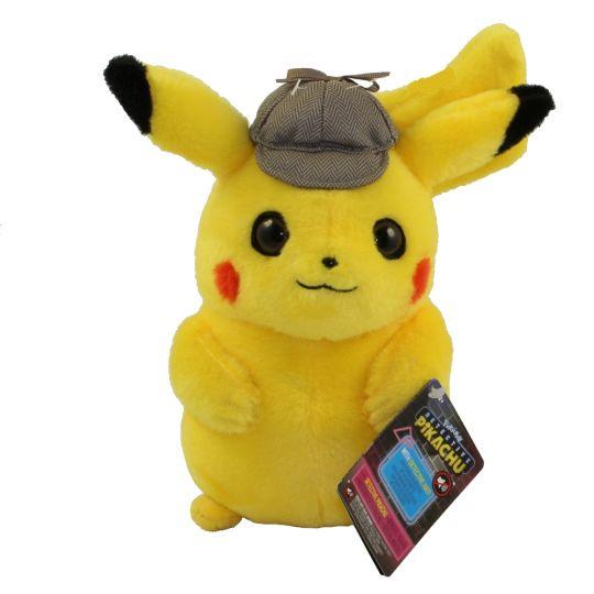 Wicked Cool Toys Pokemon Detective Pikachu Plush Detective