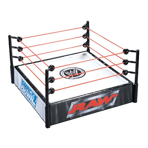 Toy Cage Wrestling Ring