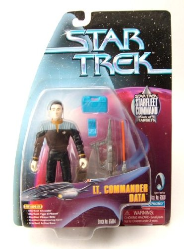 Playmates Star Trek Starfleet Academy Lt. Commander Data Target Exclusive  (New in Package - Mint)  Sell2BBNovelties.com  Sell TY Beanie Babies fa8d0b950e2