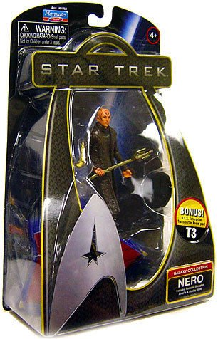 Playmates Toys Star Trek Galaxy Collection Nero action figure Brand New!