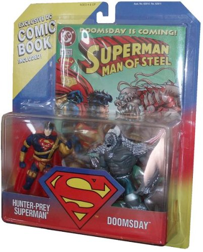 Dc Comics Superman Man Of Steel Limited Edition 2 Pack Action
