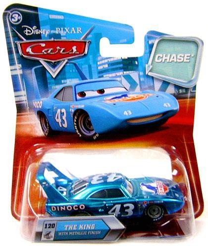 Disney Pixar Cars The King with Metallic Finish Chase