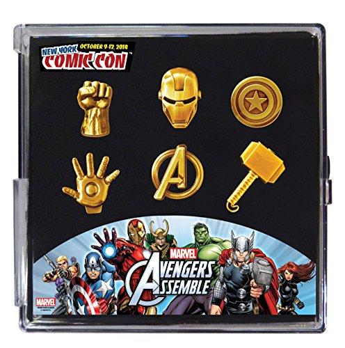 Marvel Avengers Pewter Pin Set  Sell2BBNovelties.com  Sell TY Beanie Babies 95913aa230e