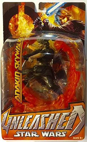 Star Wars Revenge Of The Sith Rots Unleashed Figure Anakin Skywalker New Mint Sell2bbnovelties Com Sell Ty Beanie Babies Action Figures Barbies Cards Toys Selling Online
