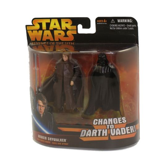 Star Wars Revenge Of The Sith Rots Action Figure Anakin Skywalker To Darth Vader 3 75 Inch Sell2bbnovelties Com Sell Ty Beanie Babies Action Figures Barbies Cards Toys Selling Online