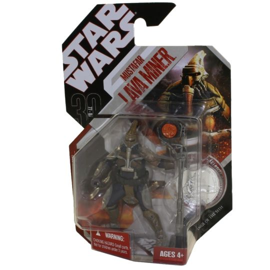 Star Wars Revenge Of The Sith Rots Action Figure Mustafar Lava Miner 3 75 Inch New Mint Sell2bbnovelties Com Sell Ty Beanie Babies Action Figures Barbies Cards Toys Selling Online