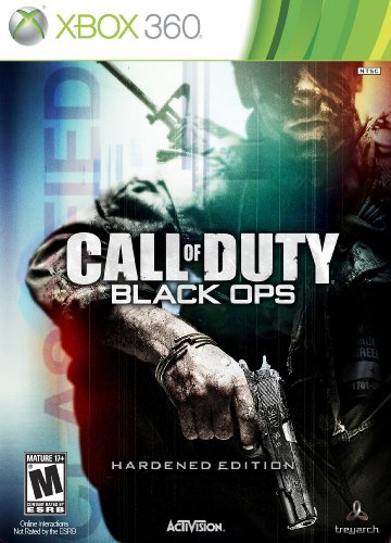 Xbox 360 Game Call Of Duty Black Ops Hardened Edition