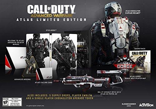 Xbox 360 Game Call Of Duty Advanced Warfare Atlas Limited