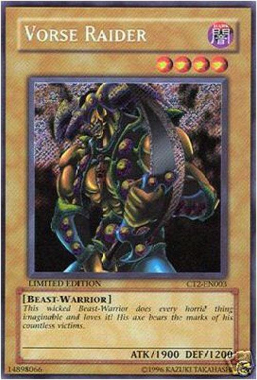 Yu Gi Oh Card Ct2 En003 Vorse Raider Secret Rare Holo